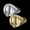 MALCOLM CLAN crest ring for Ladies